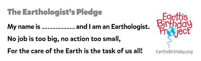 earthologist pledge